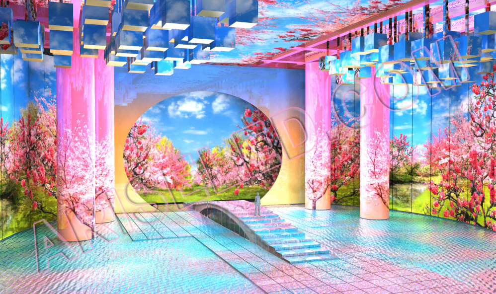 Indoor/Outdoor Full Color Floor LED Display