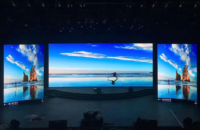 Zhuzhou Television Station P3.91mm Indoor LED Display